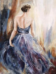 Lady in Blue by Farrell Douglass