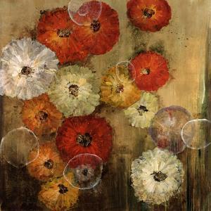 Zinnias by Farrell Douglass