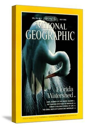 Cover of the July, 1990 National Geographic Magazine