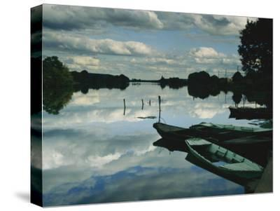 Serenity Creates a Perfect Mirror of the Seine River Near Giverny