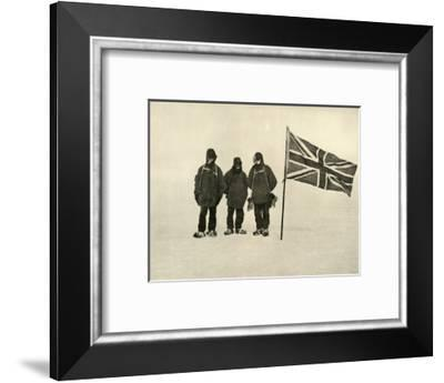 'Farthest South', 9 January 1909-Eric Marshall-Framed Photographic Print
