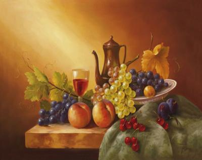 Still Life With Fruits I by Fasani