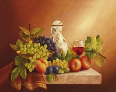 Still Life With Fruits II by Fasani