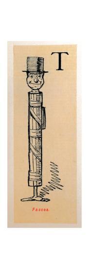 'Fasces', 1852-John Leech-Giclee Print