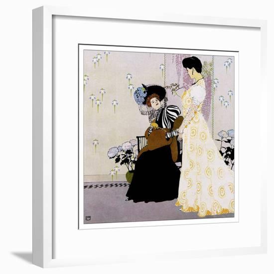 Fashion 027-Vintage Lavoie-Framed Giclee Print