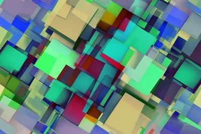 Fashion Background With Trendy Or Modern Abstract-kentoh-Art Print