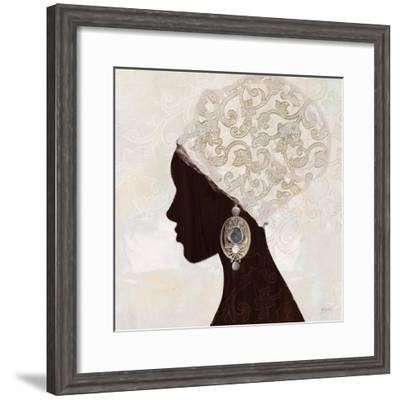 Fashion Global Silhouette 2-Bella Dos Santos-Framed Art Print