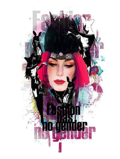 Fashion Has No Gender Collage--Art Print