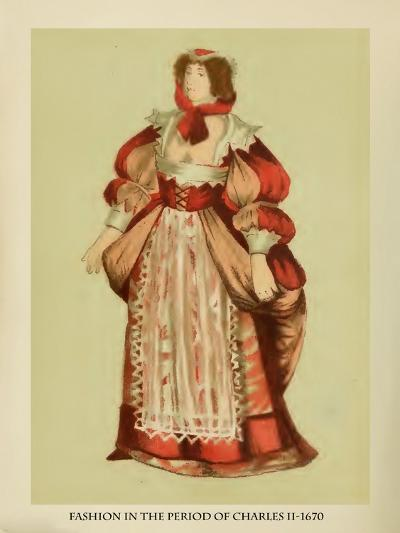 Fashion in the Period of Charles II-Lewis Wingfield-Art Print