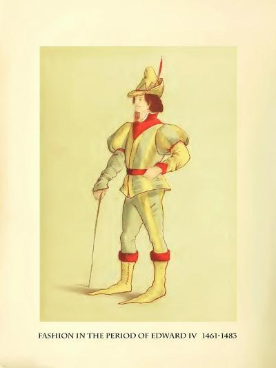 Fashion in the Period of Edward IV-Lewis Wingfield-Art Print