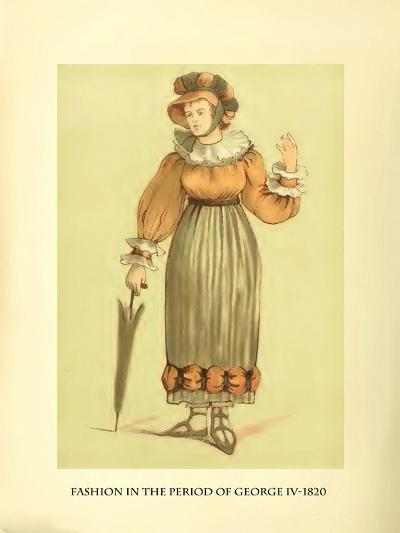 Fashion in the Period of George IV-Lewis Wingfield-Art Print
