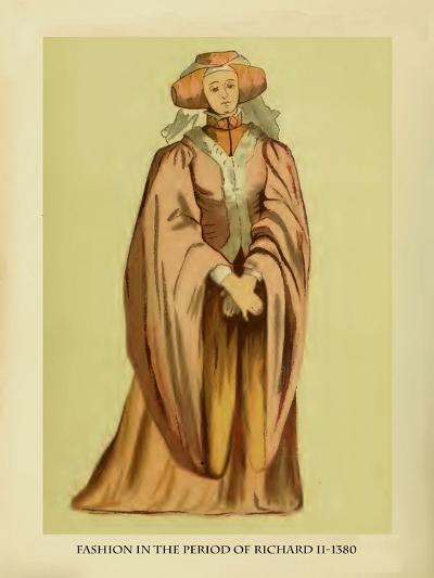 Fashion in the Period of Richard II-Lewis Wingfield-Art Print