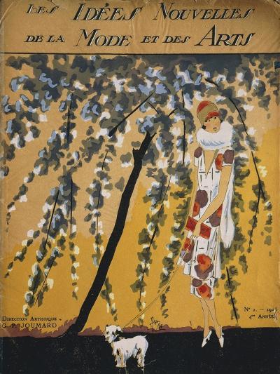 """Fashion Magazine """"Les Idees Nouvelles De La Mode Et Des Arts"""", Cover No. 2, 1925--Giclee Print"""