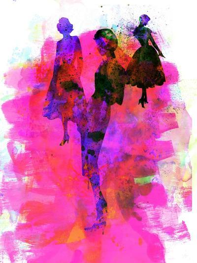 Fashion Models 1-Irina March-Art Print