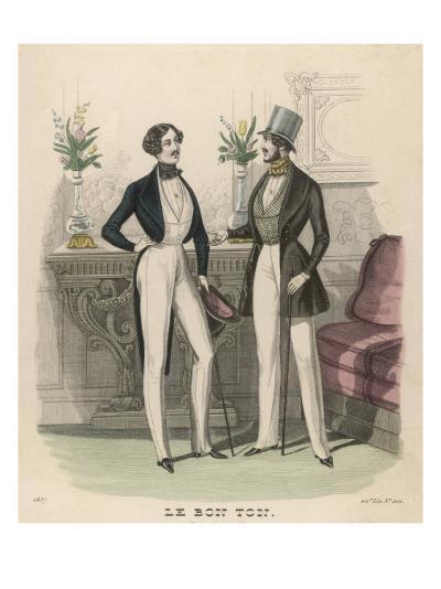 Fashion Plate, 1837--Giclee Print