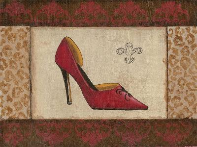 Fashion Shoe I-Sophie Devereux-Art Print