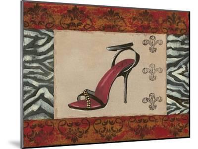 Fashion Shoe II-Sophie Devereux-Mounted Art Print