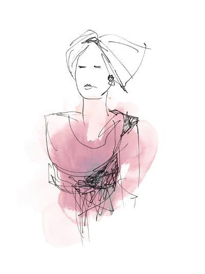 Fashion Splash V-June Vess-Art Print