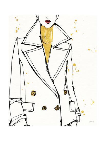 Fashion Strokes I-Anne Tavoletti-Art Print