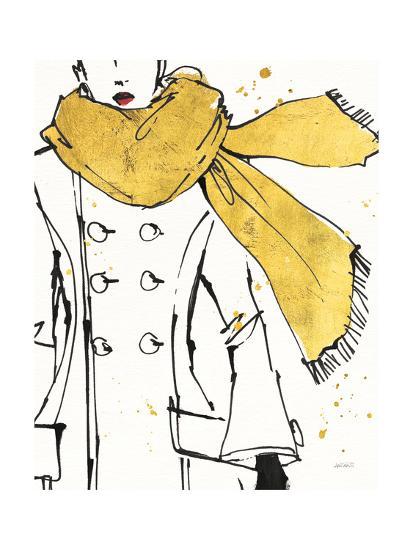 Fashion Strokes III-Anne Tavoletti-Art Print