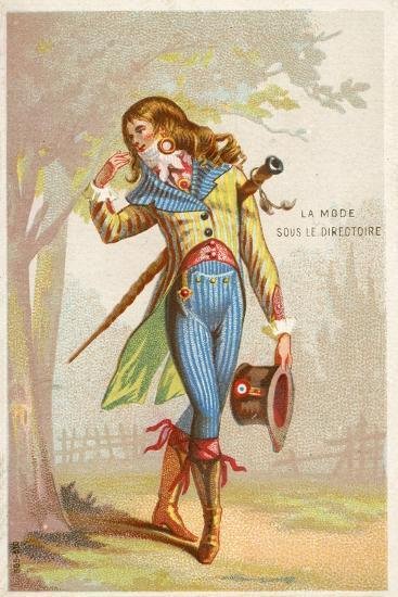 fashion under the directory french revolution 1785 1799 giclee