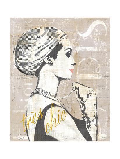 Fashion Week Paris Halftone III-Sue Schlabach-Art Print