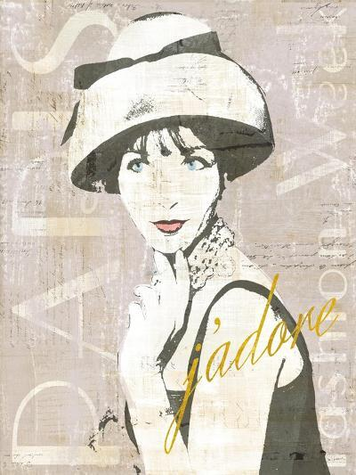 Fashion Week Paris Screenprint I-Sue Schlabach-Art Print