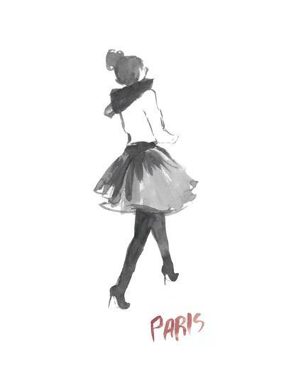 Fashion Week Sketch I-Naomi McCavitt-Art Print
