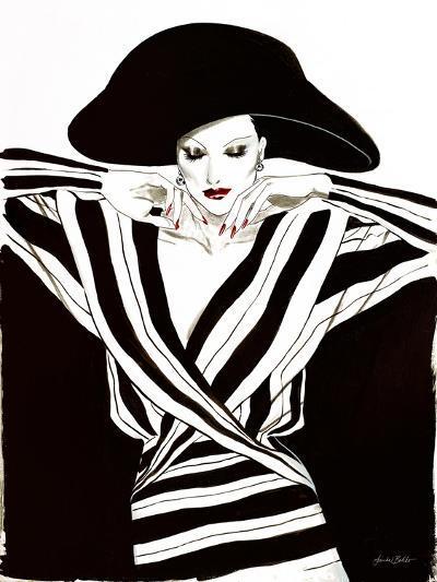 Fashion Women III-Linda Baliko-Art Print