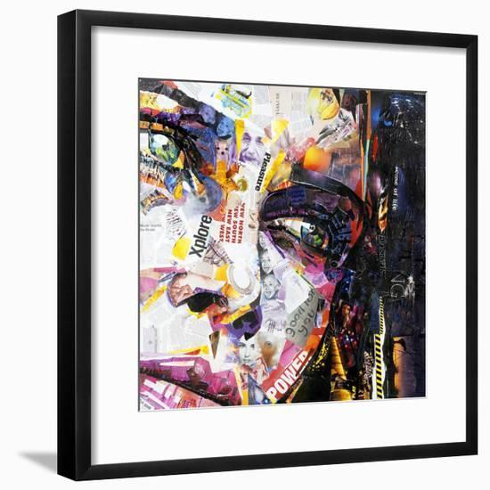 Fashion-James Grey-Framed Art Print