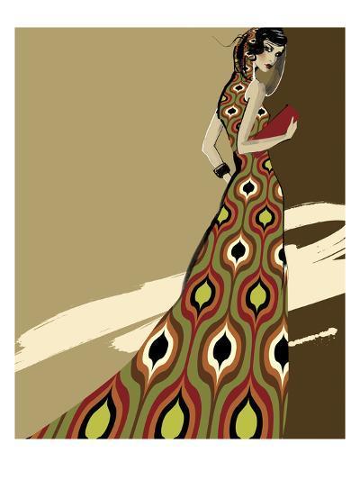 Fashionista I-Ashley David-Premium Giclee Print