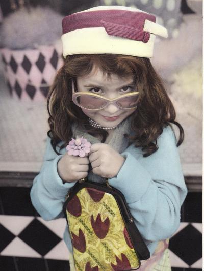 Fashionista-Gail Goodwin-Giclee Print