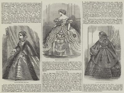 Fashions for March--Giclee Print