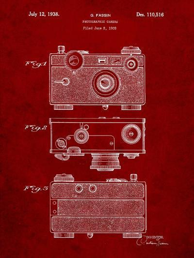 Fassin Photographic Camera Patent-Cole Borders-Art Print