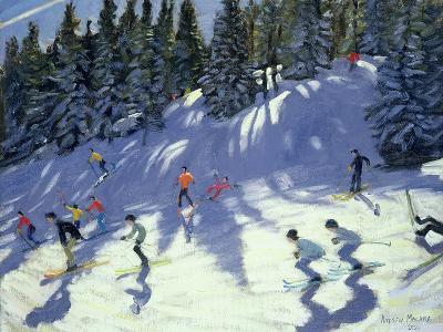 Fast Run, 2004-Andrew Macara-Giclee Print
