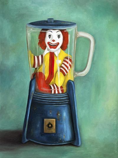 Fastfood Nightmare 2-Leah Saulnier-Giclee Print