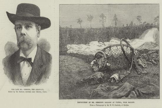 Fatal-Balloon Accident--Giclee Print