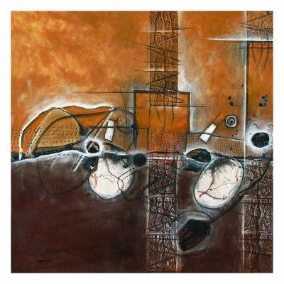 Fatalité…emmuré-Sylvie Cloutier-Art Print