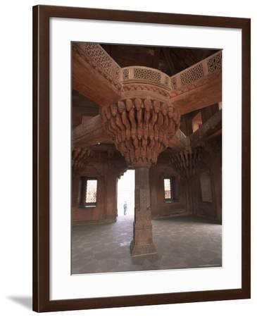 Fatehpur Sikri, Built by Akbar in 1570 as His Administrative Capital, India-Robert Harding-Framed Photographic Print