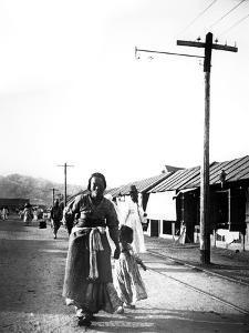 Father and Child, Seoul, Korea, 1900