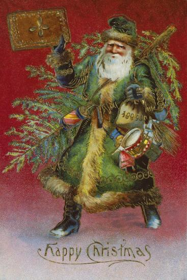 Father Christmas I-The Victorian Collection-Giclee Print