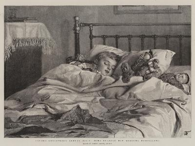 Father Christmas's Annual Visit, Some Strange But Welcome Bedfellows-Robert Barnes-Giclee Print