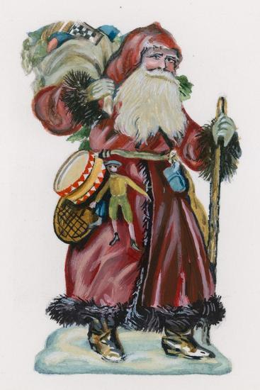 Father Christmas--Giclee Print