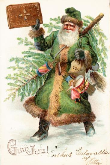 Father Christmas-German School-Giclee Print