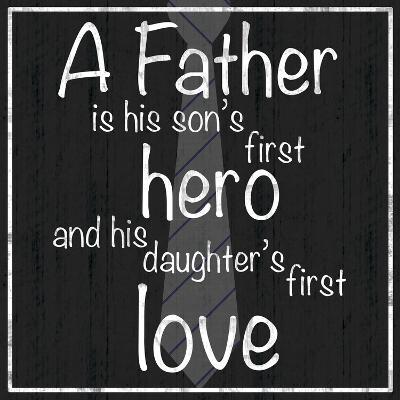 Father Hero-Lauren Gibbons-Premium Giclee Print