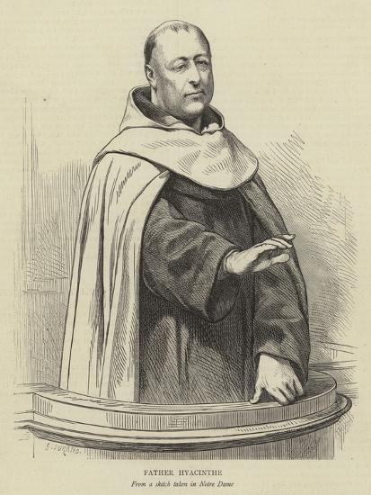 Father Hyacinthe-Godefroy Durand-Giclee Print