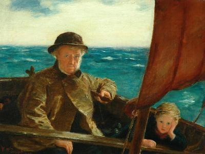 Father Is at the Helm, 1889-William McTaggart-Giclee Print