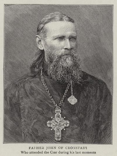 Father John of Cronstadt--Giclee Print