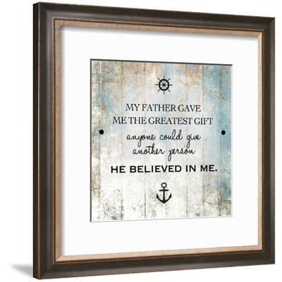 Fatherday 2-Victoria Brown-Framed Art Print