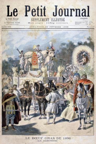 Fatted Ox Celebrations in Paris, 1896-Oswaldo Tofani-Giclee Print